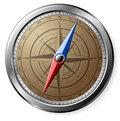 Steel Compass Stock Images