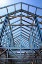 Steel construction Royalty Free Stock Photos