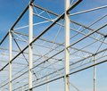 Steel frame Royalty Free Stock Photo