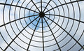 Steel Dome Structure Royalty Free Stock Photo