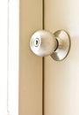 A steel door knob Royalty Free Stock Image