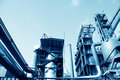 Steel enterprise production equipment Royalty Free Stock Images