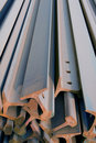 Steel girder Royalty Free Stock Images