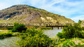 Steel Girder Railway Bridge over the Nicola River Royalty Free Stock Photo