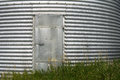 Steel Grain Bin Door Royalty Free Stock Photo