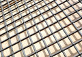 Steel grating Stock Photography