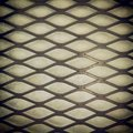 Steel grid texture or background of a over white Royalty Free Stock Image
