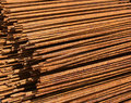 Steel grids backgrounds industries details Royalty Free Stock Images