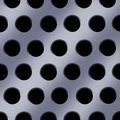 Steel Holes Background Stock Image