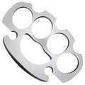 Steel Knuckles Royalty Free Stock Photos
