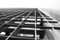 Steel lattice macro Royalty Free Stock Photo