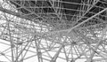 Steel lattice work Royalty Free Stock Photo