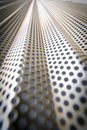 Steel mesh screen vertical Royalty Free Stock Photography