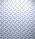 Steel metal diamond plate Royalty Free Stock Photo