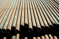 Steel Pipe. Royalty Free Stock Image