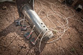 Steel Pipe Explosive Device Royalty Free Stock Image