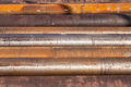 Steel Pipes Rust Heavy Industry Royalty Free Stock Photo
