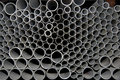 STEEL PIPES tubes Royalty Free Stock Photos