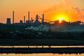 stock image of  Steel plant