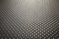 Steel plate background a with diamond pattern Royalty Free Stock Photos