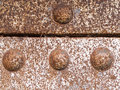 Steel rivets iron surface background pattern