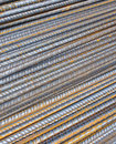 Steel rods Stock Photo