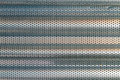 Steel sheet perforated Royalty Free Stock Photo