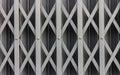 Steel sliding door texture old Royalty Free Stock Images