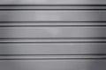 Steel sliding doors Royalty Free Stock Photo