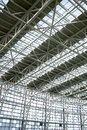 Steel structure building Royalty Free Stock Image