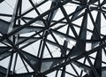 Steel structure Modern Building Architecture abstract Royalty Free Stock Photo