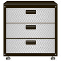Steel tool box with drawers vector illustration Stock Photo