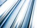 Steel wall fabric hall nice abstract background Royalty Free Stock Photos