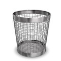 Steel Wastebasket Stock Photos