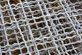 Steel wire net texture Royalty Free Stock Photo
