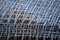 steel wire net texture