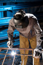 Steel worker Royalty Free Stock Photography