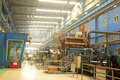 Steel workshop cold rolled strip production Stock Photography