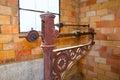 Steelyard roman balance romaine grunge antique Royalty Free Stock Photo