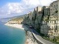 Steep coast in Calabria, Italy Royalty Free Stock Photo