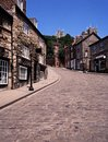 Steep Hill, Lincoln, England. Stock Images