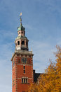 Steeple of City Hall in Dutch Renaissance style Stock Photography
