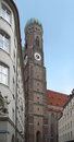 Steeple of the Frauenkirche in Munich Stock Photography