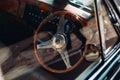 Steering wheel inside auto
