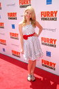 Stefanie scott at the los angeles premiere of furry vengeance mann bruin westwood ca Royalty Free Stock Photography