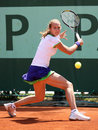 Stefanie Voegele (SUI) at Roland Garros 2011 Royalty Free Stock Image