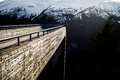 Stegastein lookout in Norway Royalty Free Stock Photo