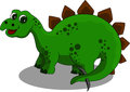 Stegosaurus cartoon Royalty Free Stock Photography