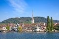 Stein am rhein medieval city near shaffhausen switzerland Stock Image