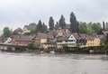 Stein am rhein switzerland the historical buildings at the shore of the river Stock Photos